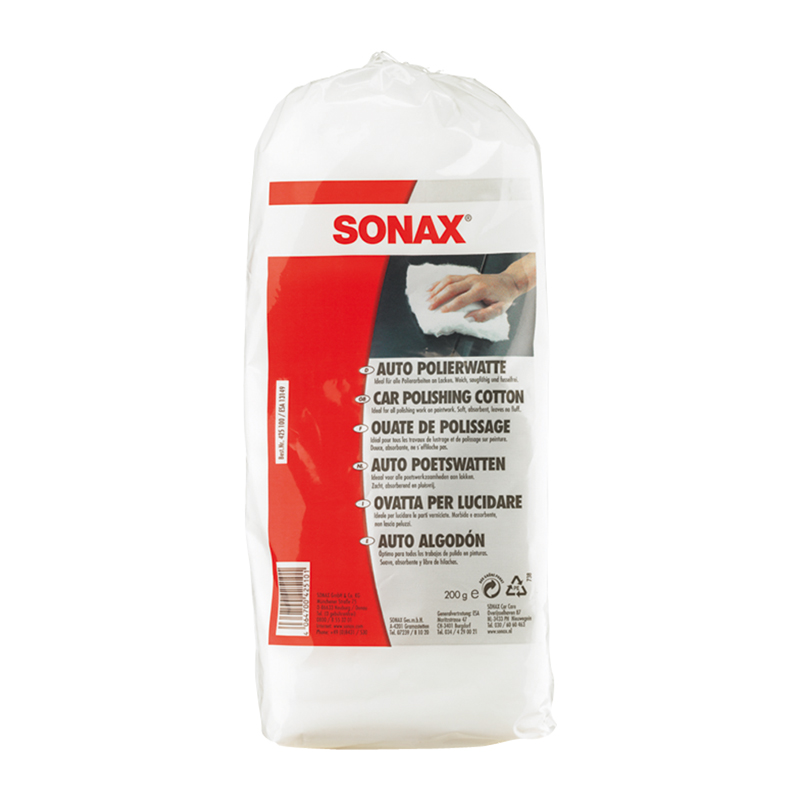 SONAX Auto algodón